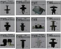Wholesale Peugeot Auto Parts - Auto parts, GM PEUGEOT bumper piercing nail clip slasp, rear bumper locator clip slasp