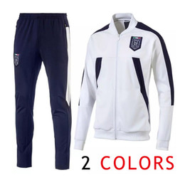 Wholesale Track Suits Jackets - Italy Jacket Track suit Soccer Jersey Long Pants Football Shirts Italia Equipment Long Pants Man tracksuits jacket Uniform National Team