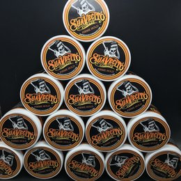 Wholesale Hair Ways - Suavecito Pomade Gel 4oz 113g Strong Style Restoring Ancient Ways is Big Skeleton Hair Slicked Back Hair Oil Wax Mud