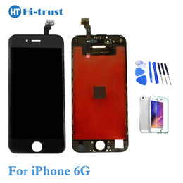 Wholesale Iphone Digitizer Pcs - 1 Pcs Grade AAA+++LCD Display Touch Digitizer Screen With Frame Assembly Replacement For iPhone 6 6g With Tools With Free Shipping
