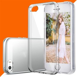 Wholesale Note Free Case - For iPhone 7 Clear Case Crystal transparent Soft TPU Cases Free DHL Shipping for iphone 6 7 plus samsung galaxy note 7