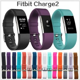 Wholesale Wholesale Price For Silicone Bands - Lowest price For Fitbit Charge 2 Heart Rate Smart Wristband Bracelet Wearable Belt Strap For Fitbit Charge 2 Silicone Replacement Band