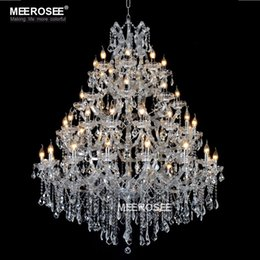 Wholesale Maria Crystal Chandelier - Luxurious Large Crystal Chandelier Lighting Maria Theresa Crystal Light for Villa Hotel Project Restaurant Lustres Luminaria Lamp