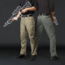Wholesale Men S Work Pants - TAD War Game tactical men's pants Cargo casual Pants Combat SWAT Army active Military work Cotton male Trousers mens