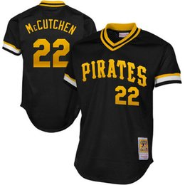 Wholesale Pittsburgh Pirates Authentic Jersey - Pittsburgh Pirates baseball jerseys Andrew McCutchen Mitchell & Ness 1982 Authentic Cooperstown Collection Mesh Batting Practice Jersey