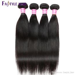 Niedrige reine haare online-Brasilianisches Jungfrau-gerades Haar des Fastyle brasilianisches peruanisches malaysisches indisches menschliches unverarbeitetes Haar-Erweiterungs-Qualitäts-niedriger Preis!