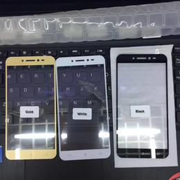 2019 zenfone gold 3 Stücke 2.5D 9 H Silking Gehärtetem Glas Film Displayschutzfolie für Asus Zenfone Live ZB501KL 5 zoll + Reinigungstücher Schwarz Gold Weiß Farbe rabatt zenfone gold
