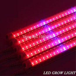 Wholesale Led Tube Housing - LED Plant Grow Light T8 LED Tube Integrated 120cm 1.2M 14W 28W Green House Tent Room hydroponic systems Growing Lamp Red Blue