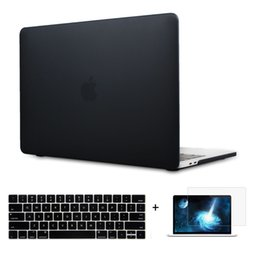 """Wholesale 13 Laptop Hard Case - Hard Case Cover for Macbook Pro 13 15"""" with out Touch Bar 2016 A1706 A1707 A1708"""