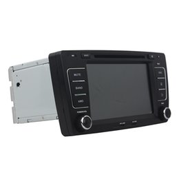 Wholesale Dvd Player Skoda - 8inch HD screen Andriod 5.1 Car DVD player for SKODA OCTAVIA 2012 with GPS,Steering Wheel Control,Bluetooth, Radio