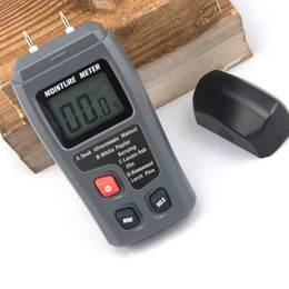 Wholesale Measure Humidity - Wholesale- Wood Moisture Tester Wood Humidity Measuring tool Cardboard Mixed Soil Moisture Meter Measuring Range 0-99.9% and Accuracy 0.5%