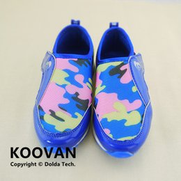Wholesale Footwear Colorful Shoes - Koovan Children Sneakers 2017 New Children Camouflage Fashion Sneakers Running Shoes Boys And Girls Sports Shoes Footwear Kids Colorful