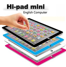 Wholesale Fun Electronics Gifts - Xmas Gift Computer Laptop Y Pad Hi-pad Toys New Learning & Education Laptop Y Pad English Learning Machine Children Fun Toys