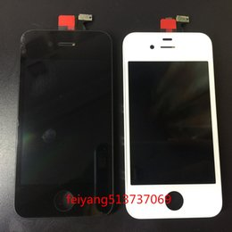 Wholesale Iphone 4s Lcd Assembly Oem - OEM best For iphone 4 4G 4S LCD Display Touch Screen Digitizer Complete Assembly Replacement