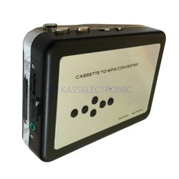 Wholesale Cassette Sd Card - Wholesale- 2016 new walkman cassette players convert tape cassette to mp3 in SD TF Card no PC required free shipping