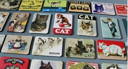 Wholesale Old Home - 24 Piece Magnetic fridge magnets cat design home decoration accessories magnetic paste Arts Crafts