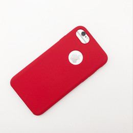 Wholesale Red Grey Oil Paintings - Soft Touch Feeling Oil Painting Phone Case TPU PC Hybrid Back Cover Case for iPhone 7 6 6s Plus
