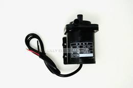 Wholesale Mini Hot Water Pumps - 12V DC Mini Brushless Magnetic Hot Water Pump (0-100 degree) -No Thread-ZC-B40