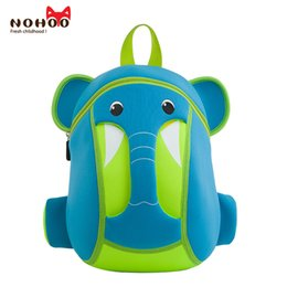 Wholesale Backpacks For Toddler Girls - Children Baby Backpacks NOHOO 3D Waterproof Toddler Kids School Bags for Girls Boys Kindergarten Cartoon Daypack