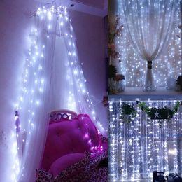 Wholesale 3m Rgb Led Strip - 6*3M 3*3M LED christmas light Halloween decoration lights LED strip light indoor outdoor using IP65 8 function 110V or 220V
