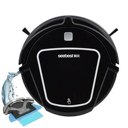 Wholesale Air Powered Vacuum - Wet Dry Mopping Robot Vacuum Cleaner Clean Robot Aspirator Time Schedule Seebest 500ml Dustbin 1000Pa Suction Power Auto Charge Vacuum