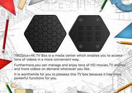 Wholesale Dvb S Tv Box - Amlogic S912 TV Boxes T95Z Plus 2GB 16GB Octa core 2.4G 5G WIFI BT4.0 4K H.265 KD17.1 fully loaded Android 7.1 Smart TV Box