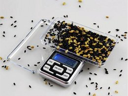 Wholesale Digital Grams Balance - Hot Sale 200g x 0.01g Mini Digital Jewelry Scale Balance Pocket Electronic Scale Grams LCD Display Free Shipping