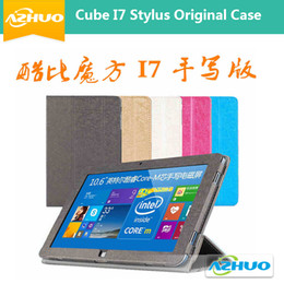 "Wholesale Free Tablet Cases - Wholesale-Original Leather Case For Cube i7 Stylus iwork11 stylus,10.6"" cover for Cube iwork 11 Stylus tablet with gift free shipping"