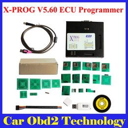 Wholesale Xprog Dhl - XPROG-M V5.60 XPROG M Programmer with USB Dongle Especially for B-M-W CAS4 Decryption Easy to Install by DHL Free Shipping