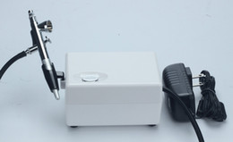 Wholesale Spray Systems - New boxy airbrush makeup system water oxygen spraying skin care beauty machine