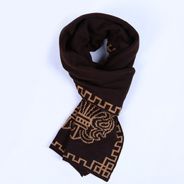 Wholesale South Korean Style Men - Wholesale- Fashion Men scarves South Korean couple folk style wool scarf Tibet wool scarf men