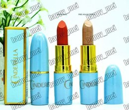 Wholesale Butterfly Makeup - Factory Direct DHL Free Shipping New Makeup Lips 3g Cinderella Lustre Lipstick!Free Asa Butterfly Royal Bali