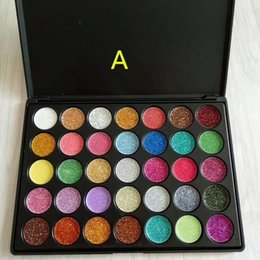 Wholesale Life Palette - 35 colors Glitter eyeshadows palette makeup A & B color choice shining you life makeup palette welcome OEM order