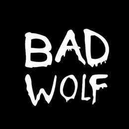 Wholesale Wolf Car Vinyl - Cool Graphics Car Stying Doctor Who Bad Wolf Vinyl Window Car Truck Sticker Decal Funny Jdm 13*11.5cm