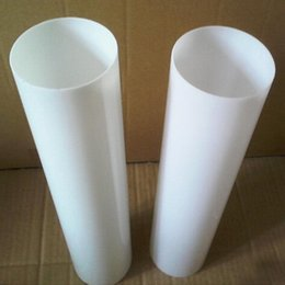 Wholesale Polycarbonate Lights - (100pcs lot)Plastic Polycarbonate light diffusion tube OD25x2x1000mm Building Hotel Home LED Pipe Can Cut Into Any Size