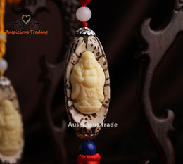 Wholesale Wholesale Wood Craft Products - Fine carved boxwood car stereo accessories pendant hanging small pieces of wood crafts scenic hot explosion models Product is not available