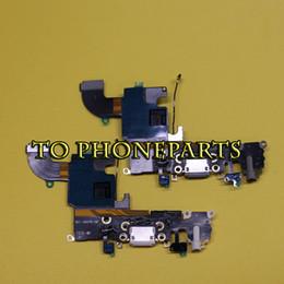 2019 apfel iphone docking 10 stücke Für iPhone 6 6s 4,7 Ladegerät Ladeport Dock Connector mit Flex Kabel Kostenloser Versand günstig apfel iphone docking