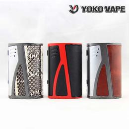 Wholesale Ecig Digital - New Hugo Vapor Yoko Vape DNA250 250W TC Box Mod Evolv DNA 250 Chip Ecig Power Regulated Digital Switch Mode boxes E-cigarette Mods