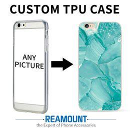 Personnalisé Marbre Skin Phone Cover pour iPhone 6 6s 6 Plus 7 7 Plus Flexiable cas de téléphone cellulaire en caoutchouc souple ? partir de fabricateur