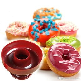 Wholesale Donut Maker Mold - High Quality New Donut Maker Cutter Mold Fondant Cake Bread Desserts Bakery Mould Tool DIY Free Shipping
