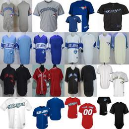 Wholesale Navy Kids Shorts - Toronto Blue Jays Custom Mens Womens Kids 2017 throwback stitched cool flex Baseball Jerseys XS-6XL Grey Navy blue Red White