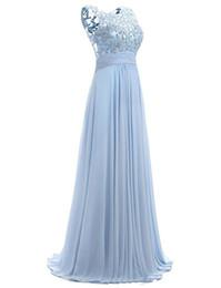Canada Robe de bal bleue à manches courtes 2019 Robe Ceremonie Femme Longue Robes de soirée élégantes parole longueur Robes de soirée cheap evening prom dresses Offre