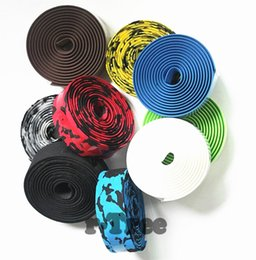 Wholesale Cycling Bike Handlebar Tape Wrap - New Arrival High Quality Colorful Cycling Handle Belt Bike Bicycle Cork Handlebar Tape Wrap +2 Bar HC0103