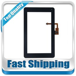 Wholesale Huawei S7 Screen Replacement - Wholesale- For New Huawei Mediapad S7 Lite s7-931U S7-931W Replacement Touch Screen Digitizer Glass 7-inch Black Free Shipping