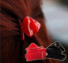 Wholesale Abs Hair - 10pcs lot Fashion Women Hair claw clip Girls ABS Plastic Mini Hairpin Claws Hair Clip Clamp For Women Gifts