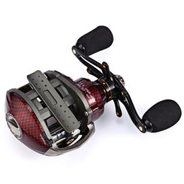 Wholesale Trulinoya Reels - Trulinoya Brand TS1200 Baitcasting Fishing Reel Right   Left Hand Bait Casting Reel Baitcast Reel Lure wheel