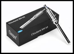 Wholesale Cigarette Vaporizer Brands - brand new dry herb vaporizer starter kit cloutank M4 2 in 1 dry herb vaporizer vape pen electronic cigarette ego dry herb