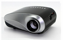 Wholesale Tv Multimedia Portable - Wholesale- 1080P full hd Proyector Beamer Projetor Portable 3D LED Projector LCD Multimedia Home Cinema HD Projector HDMI VGA USB AV TV H60