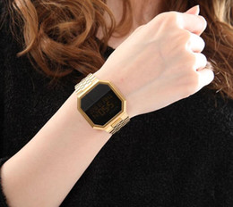 Wholesale Hottest Women State - Hot Design United States famous Luxury brand Ni-A158502 LED Electronic watches fashion Women dress watch