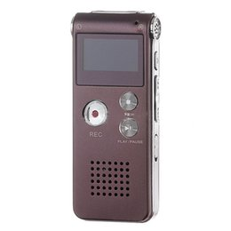 Wholesale Pocket Voice Recorders - Wholesale- Useful Mini Coffee 3in1 Pocket Rechargeable 8GB Digital Audio Voice Recorder Dictaphone 3D Stereo MP3 Player USB Flash Pen Drive